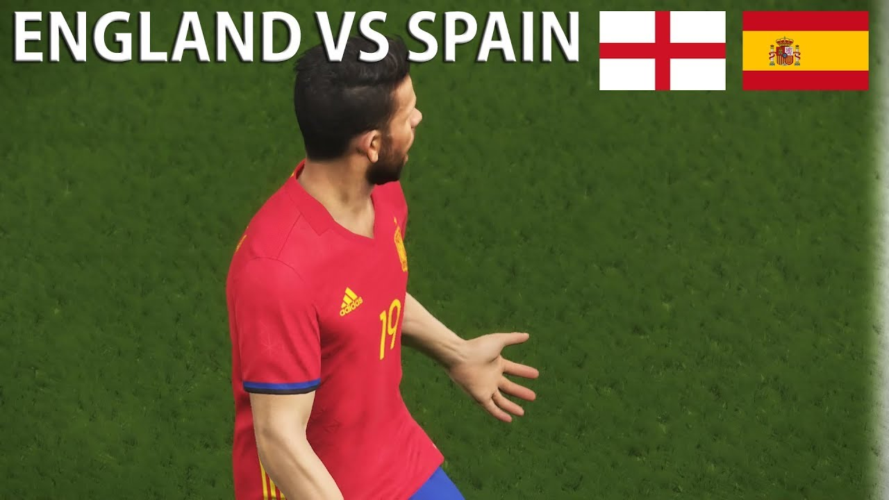 UEFA Nations League Prediction | PES 2018 | England vs ...
