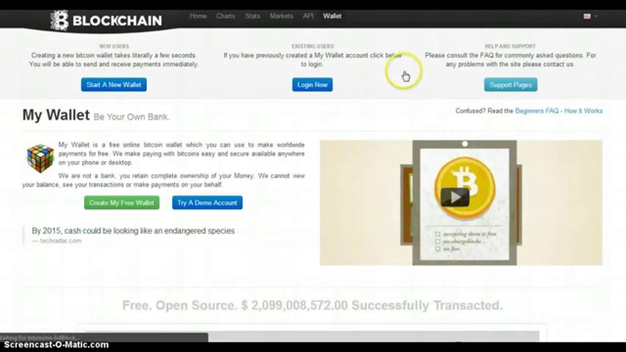 how do you setup a bitcoin wallet