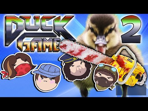 Duck Game: Ducking Around - PART 2 - Steam Rolled