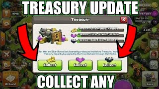 New Treasury Update concept Clash of Clans!