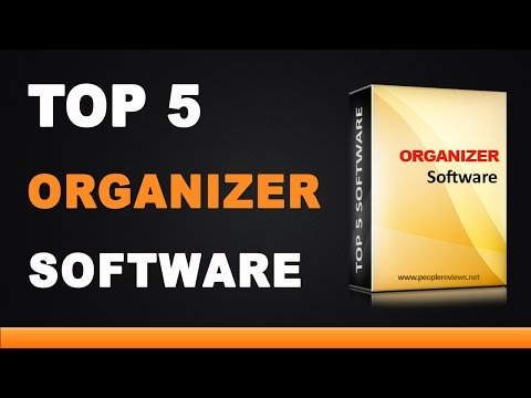 Best Organizer Software - Top 5 List