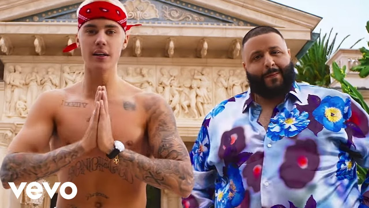 DJ Khaled ft. Justin Bieber, Quavo, Chance the Rapper, Lil Wayne - I'm the One