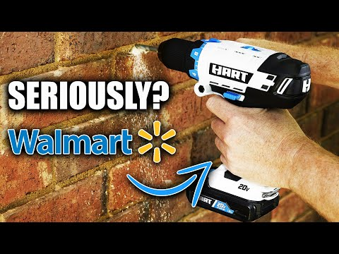 I CAN'T BELIEVE WALMART IS SELLING HART TOOLS HAMMER DRILL!