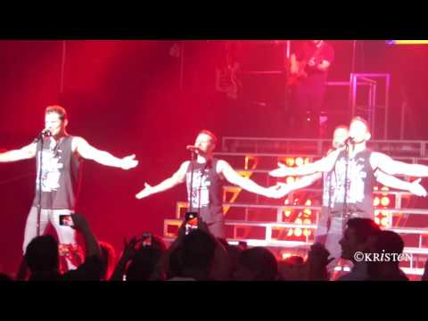 All Because Of You - 98 Degrees 8.5.16 My2K Tour