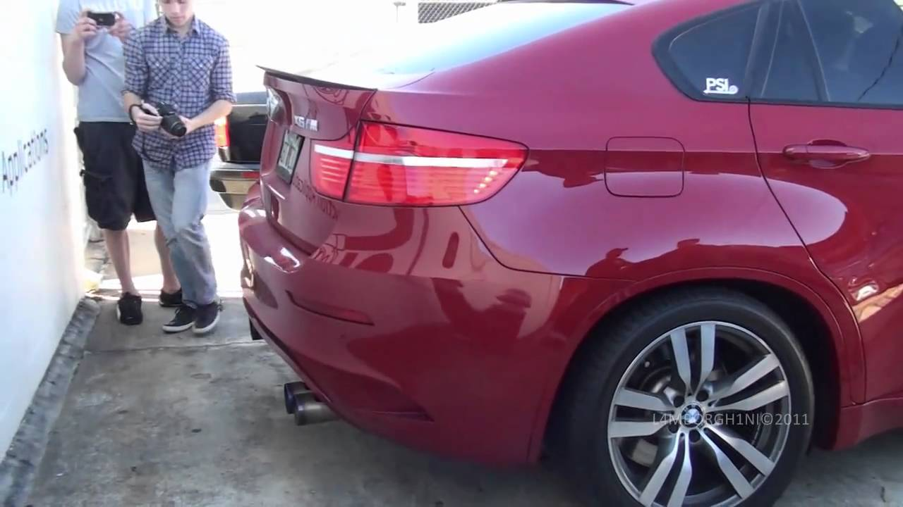 650hp Bmw X6 M W Miesterchaft Exhaust Twin Turbo Startup And