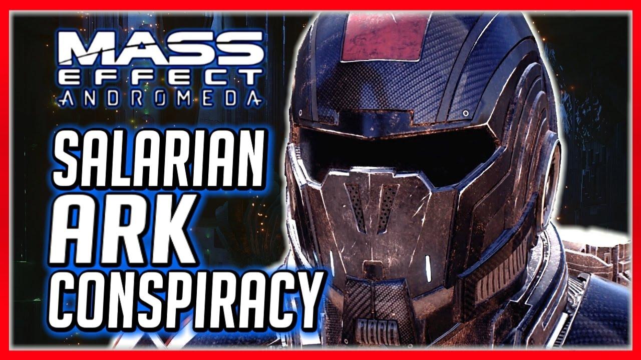 Mass Effect Andromeda Salarian Ark Conspiracy Both Outcomes