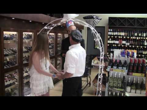 Funny Wedding Officiant - Ceremony at Jewel Osco- Introduction