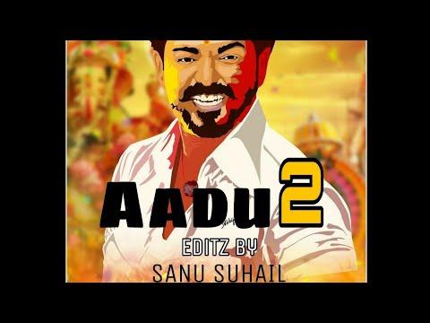 Aadu 2 Aadeda Aattam Nee Song - Thalapathy Version | Vijay | SAN CREATIONZZ