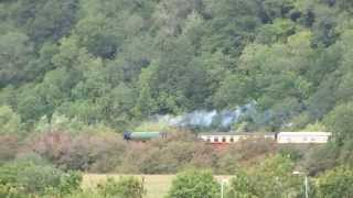 LNER A1 Class 4-6-2 no 60163 Tornado at Newton St  Loe