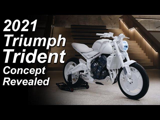 2021 Triumph Trident - Cheap new entry-level triple?