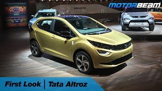 Tata Altroz & Altroz EV - First Look | MotorBeam