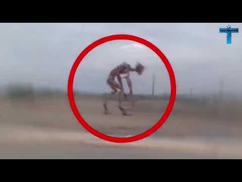 Top 10 Mysterious & Scary Creature Caught On Camera