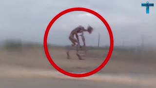 Top 10 Mysterious & Scary Creature Caught On Camera | Creepy Unidentified Creatures Videos
