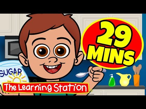 Johny Johny Yes Papa Song ♫ The Learning Station ♫ 29 Mins Compilation ♫ Videos For Kids