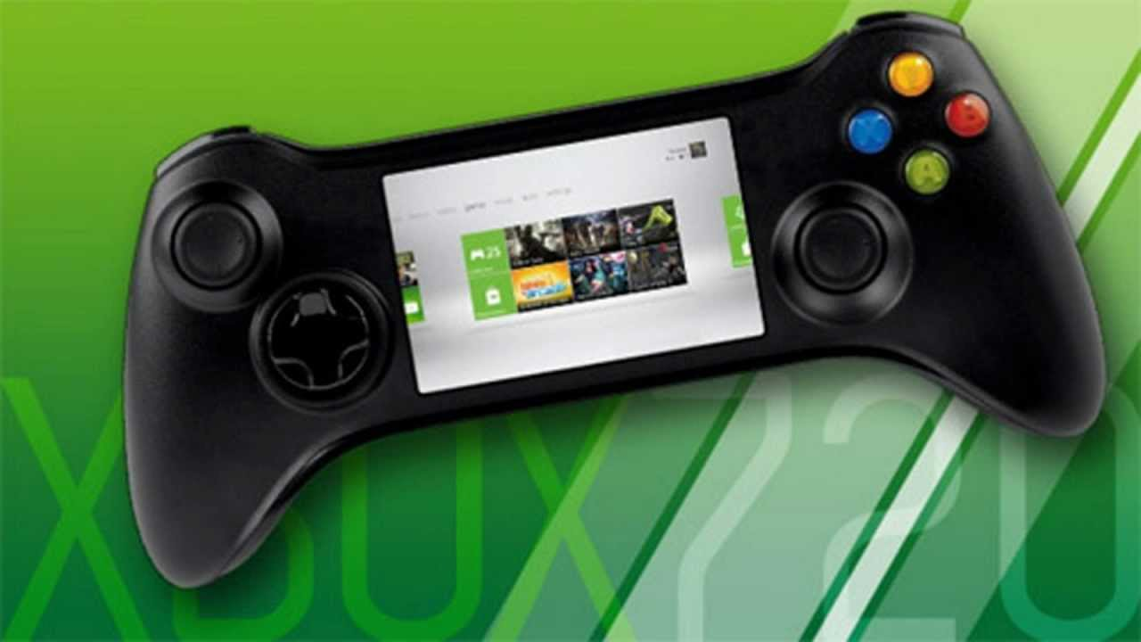 new xbox 720 controller with touchscreen controls ft. Black Bedroom Furniture Sets. Home Design Ideas