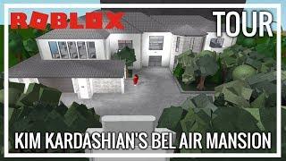 ROBLOX | Welcome To Bloxburg | Kim Kardashian's Bel Air Mansion (TOUR)
