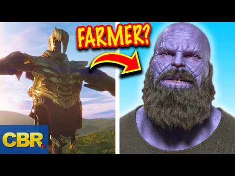 This Is What Thanos Has Been Up To Since The Snap (Marvel  Avengers Endgame Theory)