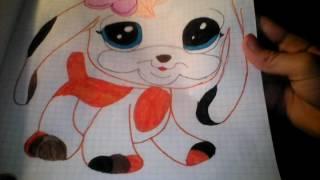 Мои ЛУЧШИЕ рисунки животных 2часть