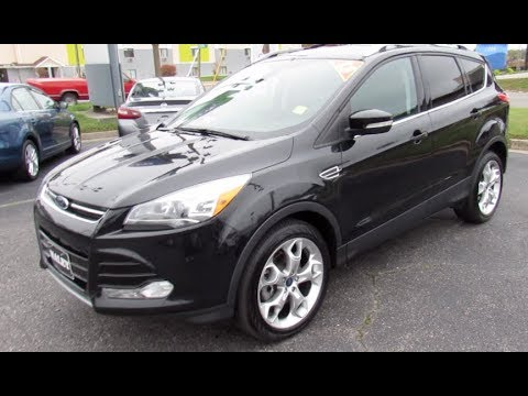 2013 Ford Escape Titanium Walkaround, Start up, Tour and Overview