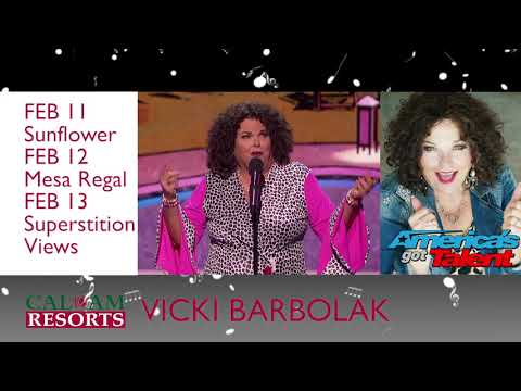 Cal-Am Proudly presents Vicki Barbolak in Mesa and Surprise AZ February 2020