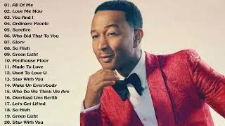 John Legend Greatest Hits - All Of Me (Full Album)
