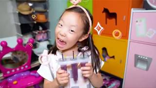 KIDS makes fruit Ice Cream with alphabet song 영어 배우기 알파벳송 인기 동요 TOYWORLD