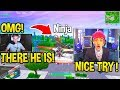 Little Kid Tried Stream Sniping Ninja...He GOES CRAZY After THIS! - Fortnite FUNNY Moments