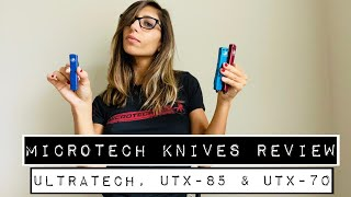 3-in-1 Review: Microtech Ultratech, UTX-85 and UTX-70