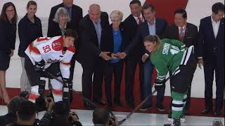 CWHL   First Game for China