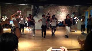 k pop cover sistar so cool dance by zn girl zn dance school of korea