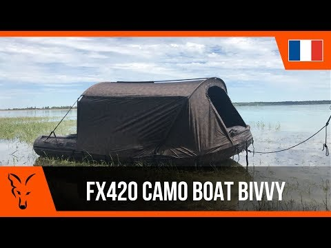*** P�che � la Carpe FOX TV *** FX420 Camo Boat Bivvy