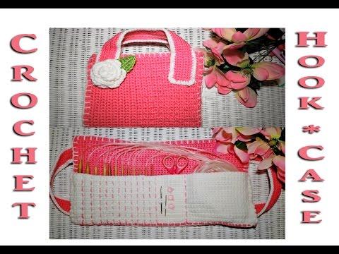 Beautiful Crochet Hook Case