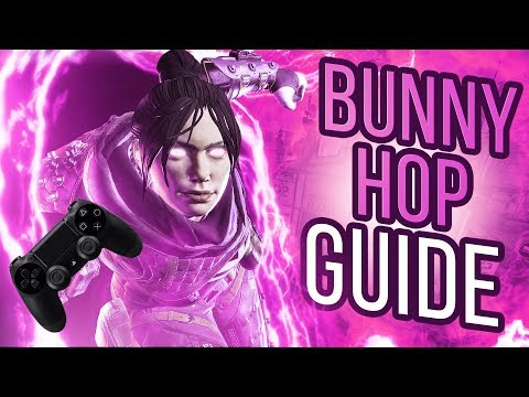 [PS4/XB1] HOW TO BUNNY HOP W/ TOGGLE CROUCH (Apex Legends)