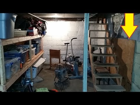 This Guy  Found Hidden Basement Room . What He Found inside Is Hauntingly Awesome.