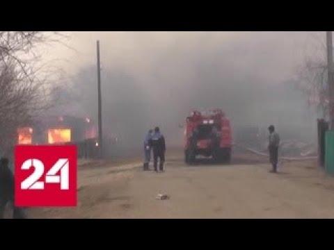 Природные пожары в Забайкалье: хроника событий