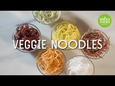 Veggie Noodles | Food Trends | Whole Foods Market