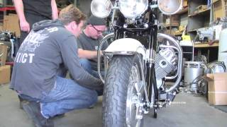 Restoring Ewan McGregors Moto Guzzi Ambassador in HD