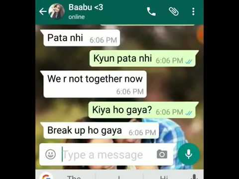 VERY VERY SAD CHAT ON WHATSAPP This will make you cry!!!! NEW 2017