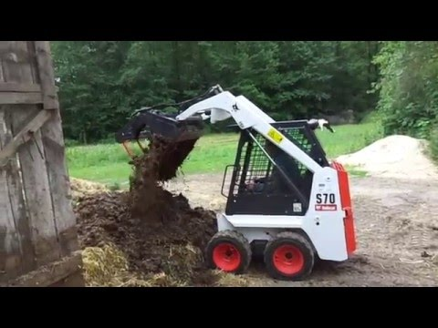 BOBCAT S70 - YouTube