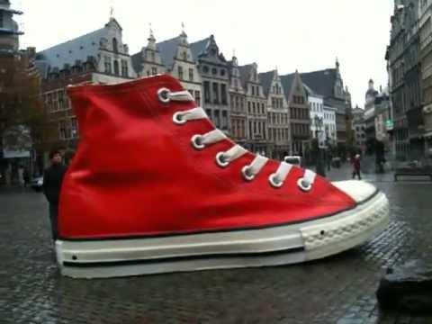 Big Wow Shoe All Star Converse in Europe Belgium