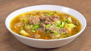 Неповторимая монгольская ХУЙЦАА. Обед станет праздником! Рецепт от Всегда Вкусно!