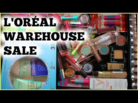 What's a L'Oréal Warehouse Sale? - Today's Haul | Vente Entrepôt l'Oréal