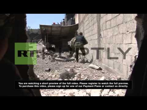 Syria: Army smashes militant positions in Jobar