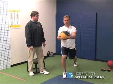 Golf Pre-Season Training Part 1: Lower Body – Hospital for Special Surgery