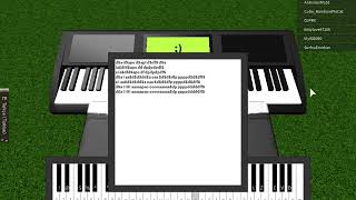 Virtual/Roblox piano Despacito