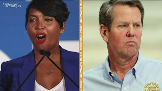 Gloves off between Atlanta mayor and Georgia governor as COVID surges