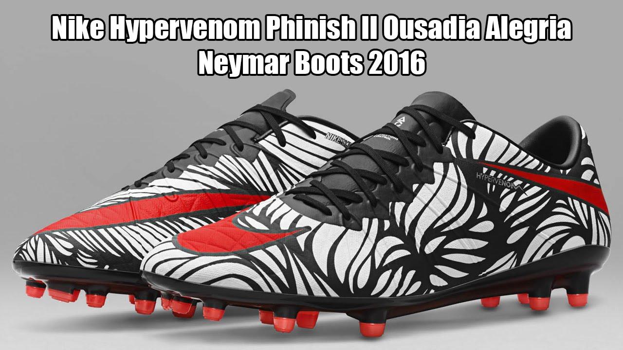 8b0d0c801 Nike Hypervenom Phinish II Ousadia Alegria Neymar Boots 2016 - YouTube
