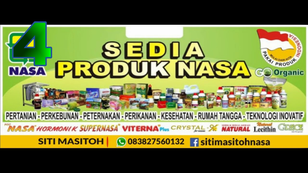 Banner Produk Nasa Cdr - desain banner kekinian