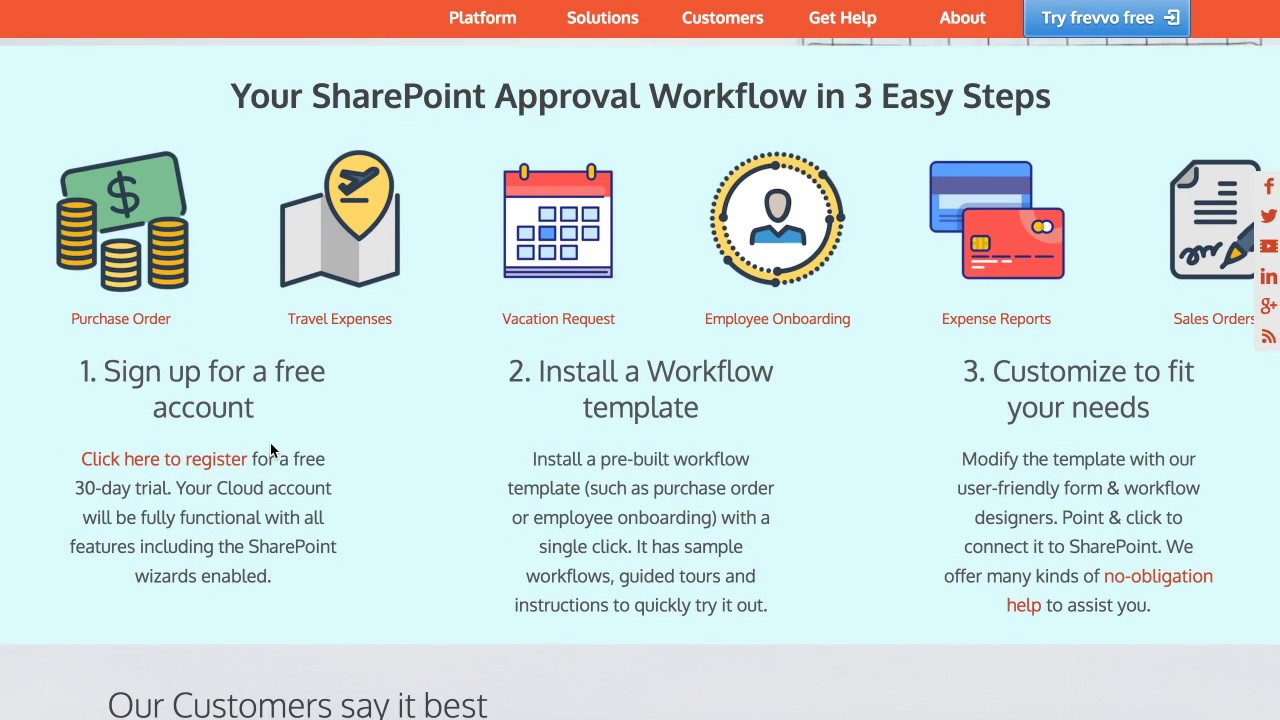 Easy SharePoint forms and workflows - YouTube