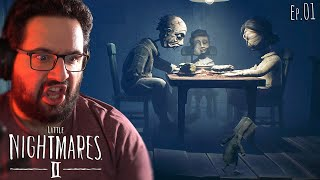 [01] Little Nightmares II - Famille creepy!